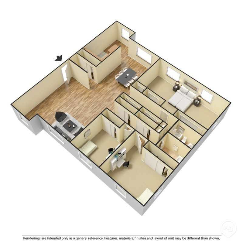 3 Bedroom - Plan 1